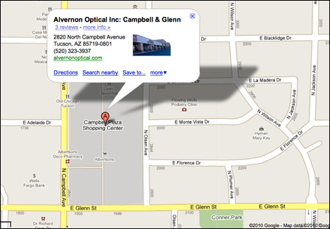 Location Map: Alvernon Optical